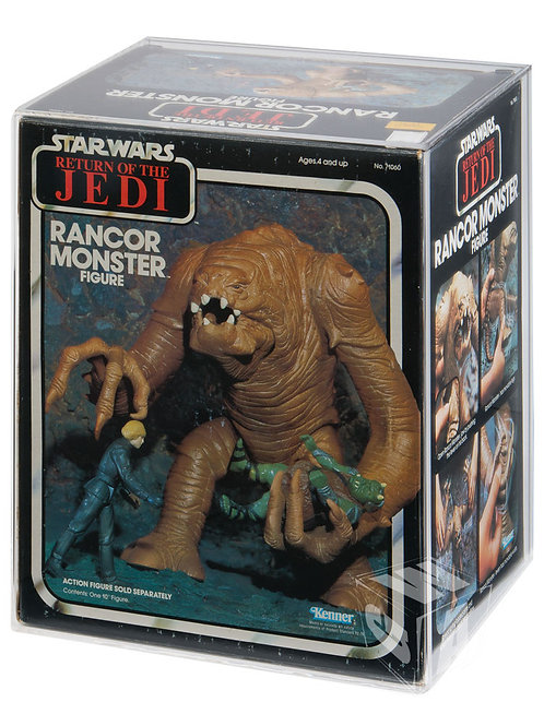 ROTJ Kenner Rancor Monster Acrylic Display Case