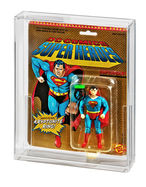 ToyBiz DC Comics & Marvel Super Heroes Acrylic Display Case