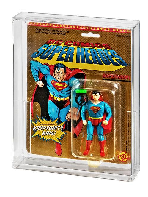 ToyBiz DC Comics & Marvel Super Heroes Acrylic Display Case