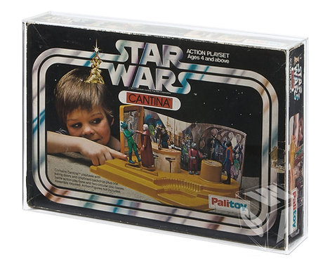*** PREORDER *** Palitoy SW Cantina & Droid Factory Acrylic Display Case