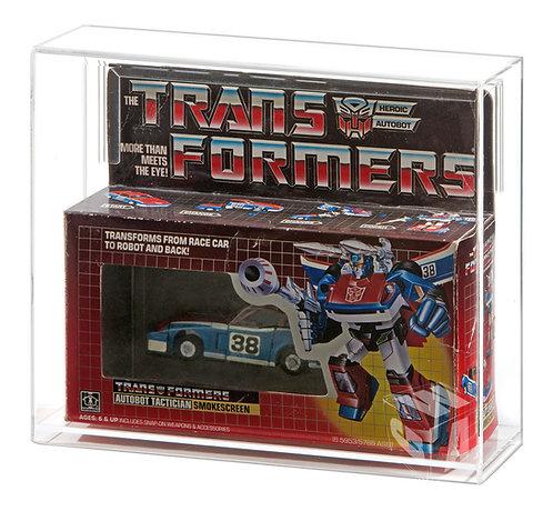 Hasbro Transformers G1 Car MIB Acrylic Display Case