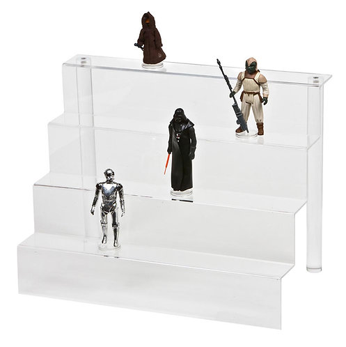 Acrylic Display Steps - Medium (4 Steps) IKEA DELTOF