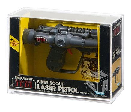 *** PREORDER *** ROTJ Kenner Biker Scout Pistol Acrylic Display Case