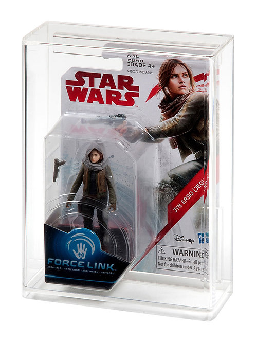 Hasbro Force Link Carded Acrylic Display Case