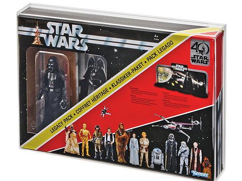 Hasbro Black Series Darth Vader Legacy Pack Acrylic Display Case