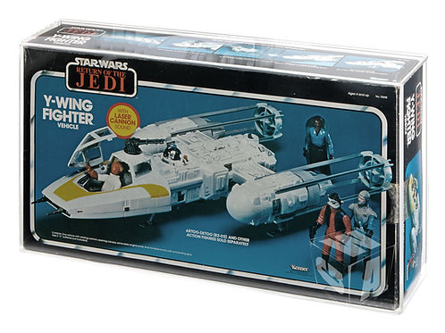 Kenner/Palitoy (Bi-logo) ROTJ Y-Wing Fighter Acrylic Display Case