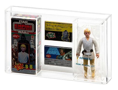 Star Wars POPY (Japanese) Boxed Star Wars Figure Display Case