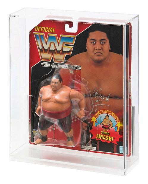 Hasbro WWF Carded Figure Acrylic Display Case (DEEP)