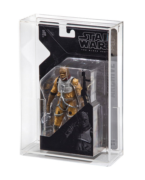 """Black Series ARCHIVE 6"""" Carded Figure Display Case"""