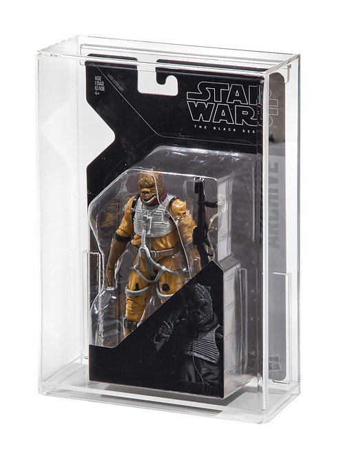 """Hasbro Black Series ARCHIVE 6"""" Carded Figure Display Case"""
