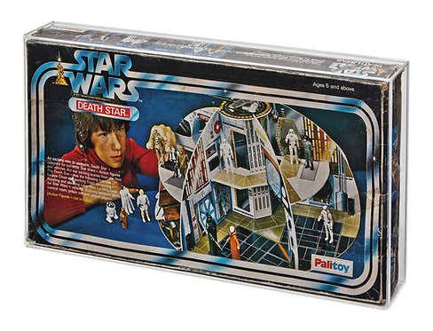 Palitoy Death Star Playset Acrylic Display Case