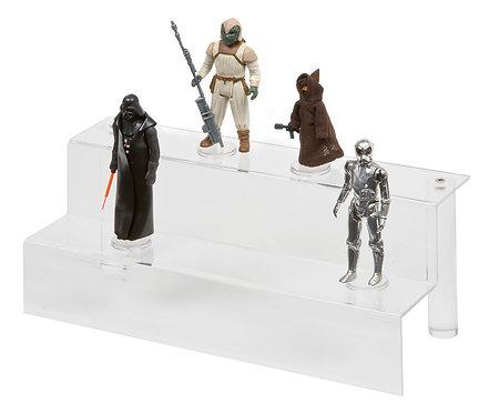 Acrylic Display Steps - Small (2 Steps)