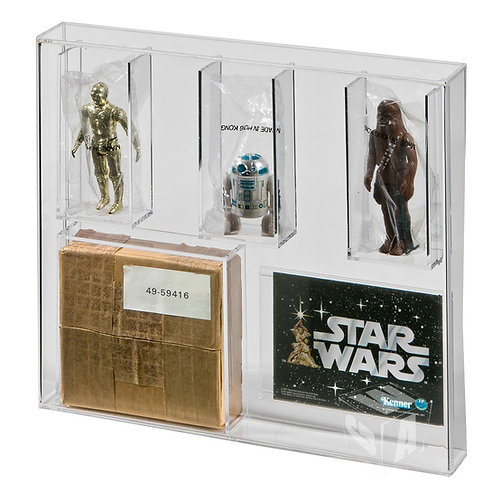 Star Wars and ROTJ (SEARS) 3 Pack Mailer Display Case