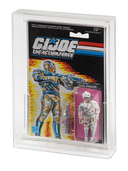 GI-Joe (EURO) Tall Carded Action Figure Display Case