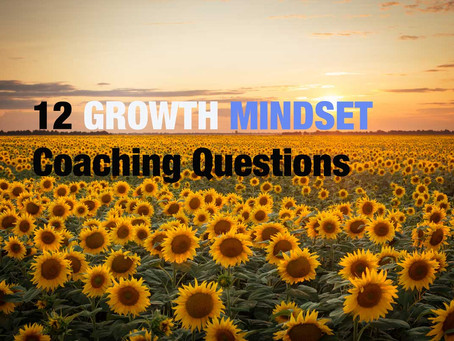 12 Growth Mindset Coaching Questions