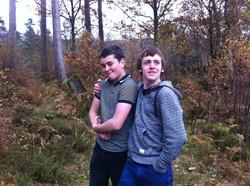 Calum and Thomas