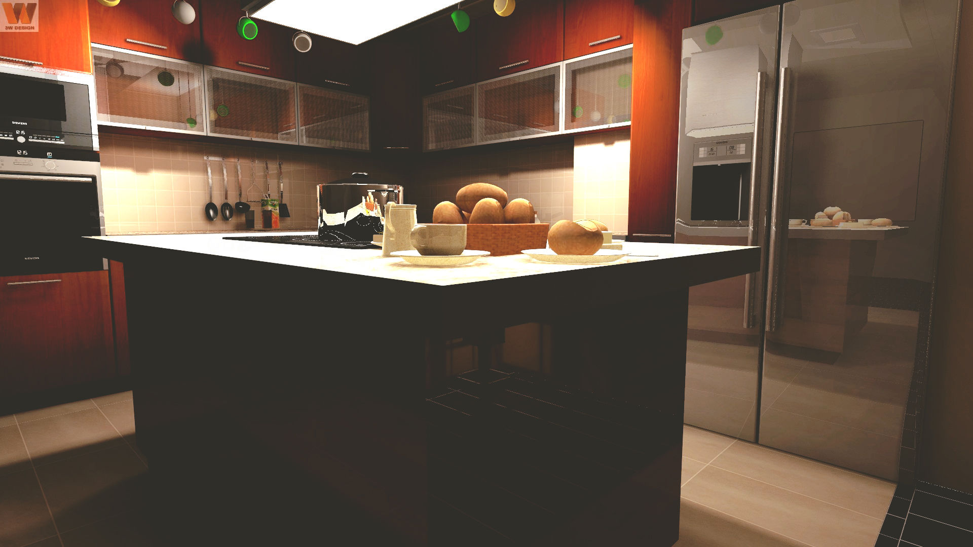 why does kitchen island height matter