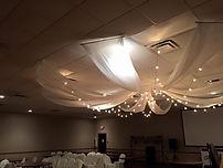 Ceiling Draping Rental
