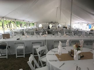 Tent, Table, and Chair Rental