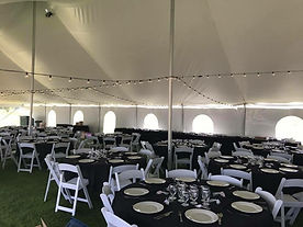 Tent, Table, and Chair Rentals