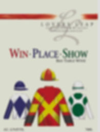 Our newly designed Win Place Show Red label