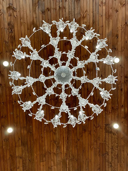 The Lovers Leap Pavilion Chandeliers