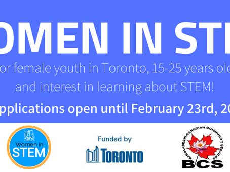 Women In STEM has Officially Launched!