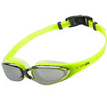 Neon Yellow Mirrored Pro Goggles