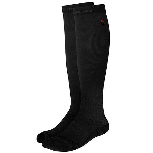Merino Wool Long Compression Socks