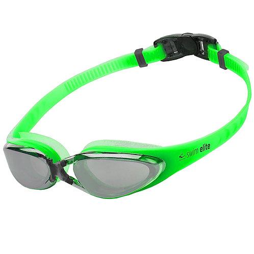 Vivid Green Mirrored Pro Goggles