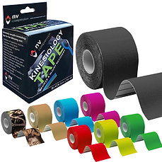 3 Pack Kinesiology Tape - 3 x 5m Rolls