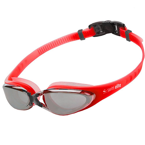 Red Mirrored Pro Goggles