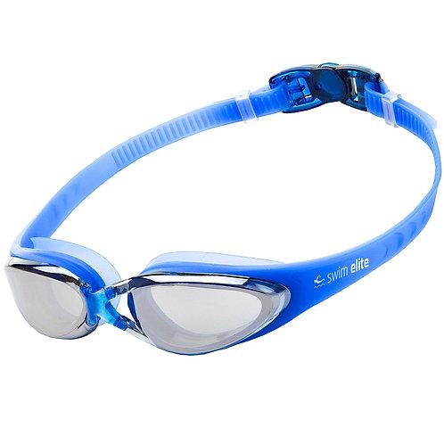 Blue Mirrored Pro Goggles