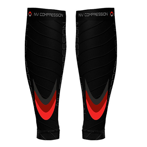 Essential Race & Recover Sleeves - Red Chevrons