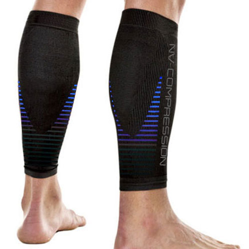 Essential Race & Recover Sleeves - Blue Stripes