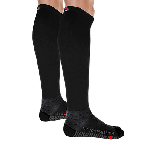 365 Cushion Socks - Solid Black