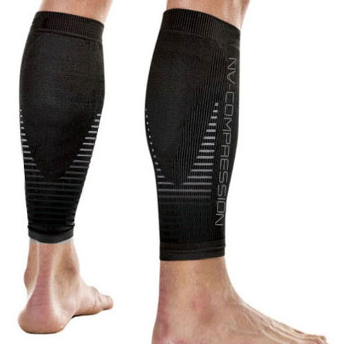 Essential Race & Recover Sleeves - Grey Stripes
