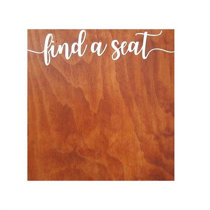 Find a Seat Board