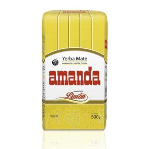 Мате (yerba mate) Amanda Elaborada Lemon 0.5 кг