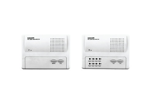 KOCOM INTERCOM รุ่น KIC-308 Main 8Ch (White) ตัวแม่ + KIC-300S ตัวลูก 8 ตัว