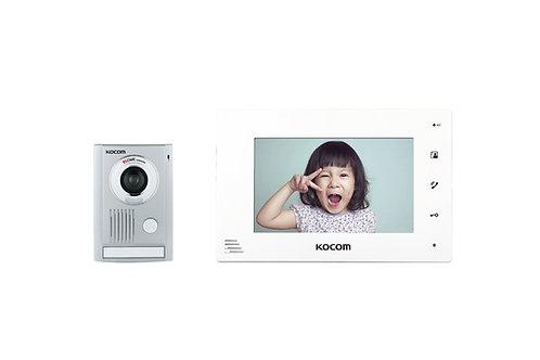 KOCOM VIDEO DOOR PHONE รุ่นขายดีตลอดกาล กริ่ง KC-MC30 และ จอ KCV-A374