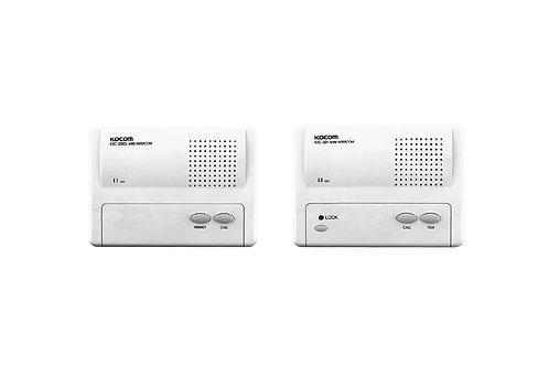 KOCOM INTERCOM รุ่น KIC-301 Main 1Ch (White) ตัวแม่ + KIC-300S ตัวลูก 1 ตัว