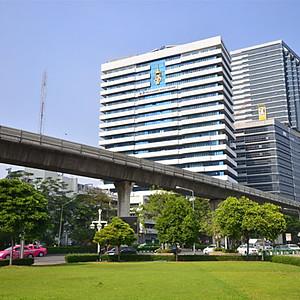 โรงพยาบาลจุฬาลงกรณ์สภากาชาดไทย ออกแบบและติดตั้งโดย SCG