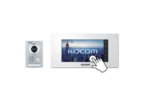 KOCOM VIDEO DOOR PHONE กริ่ง รุ่น KC-MC30 และ จอ รุ่น KCV-544SD รุ่นจอสัมผัส