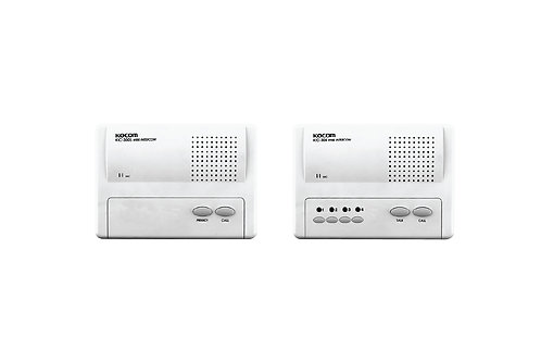 KOCOM INTERCOM รุ่น KIC-304 Main 4Ch (White) ตัวแม่ + KIC-300S ตัวลูก 4 ตัว