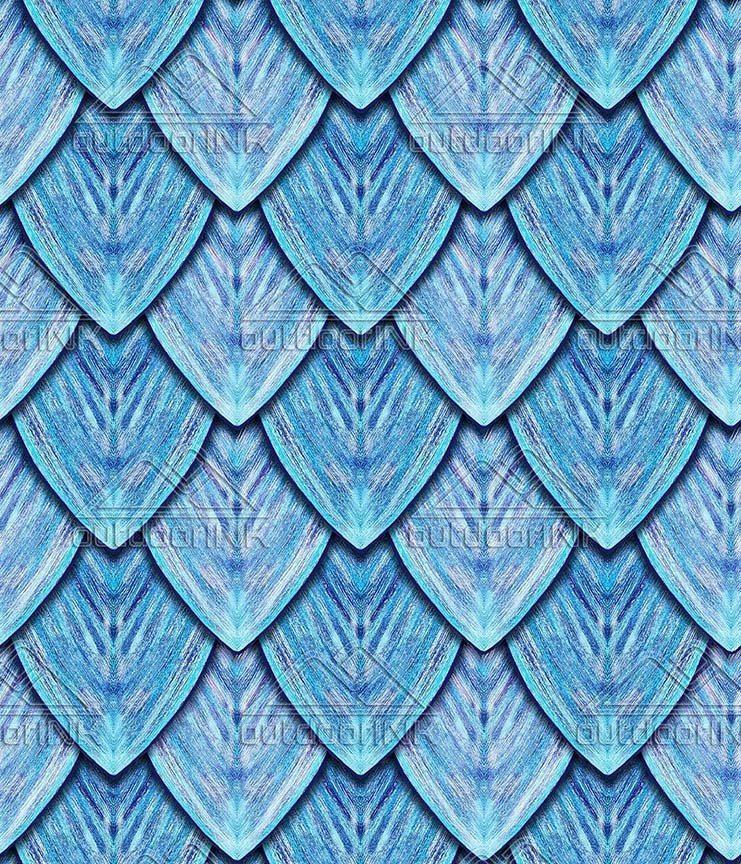 Dragon Scales - Ice