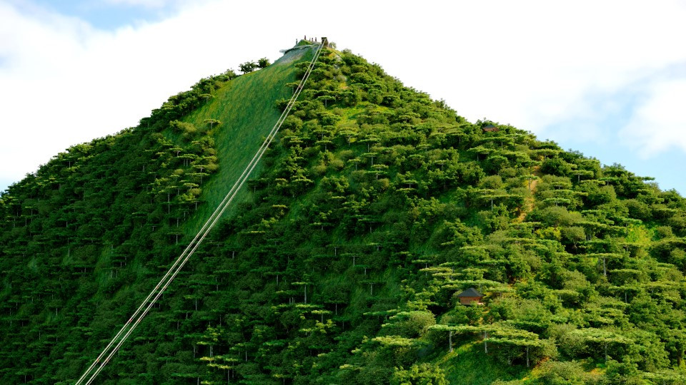 Гора Абанг