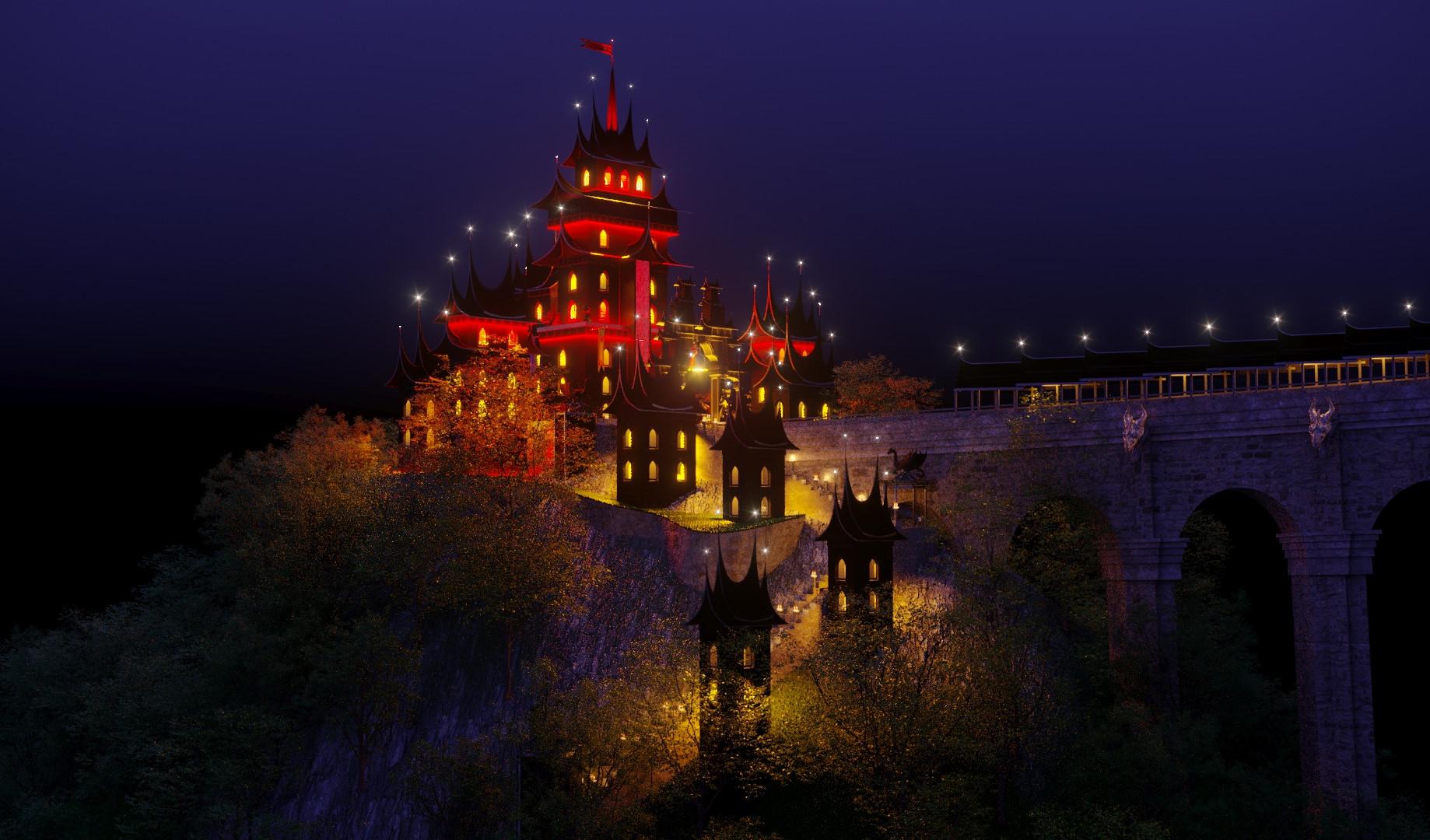 Замок Принца горы Абанг