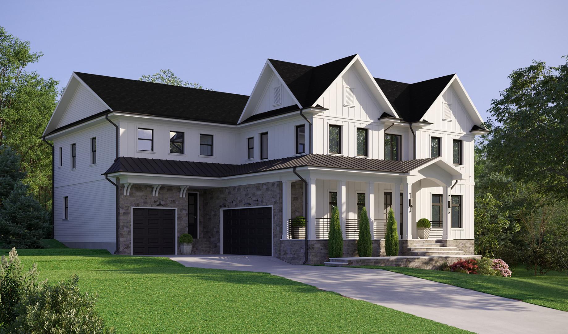 Дом в пригороде г. Вашингтон, Вирджиния, США