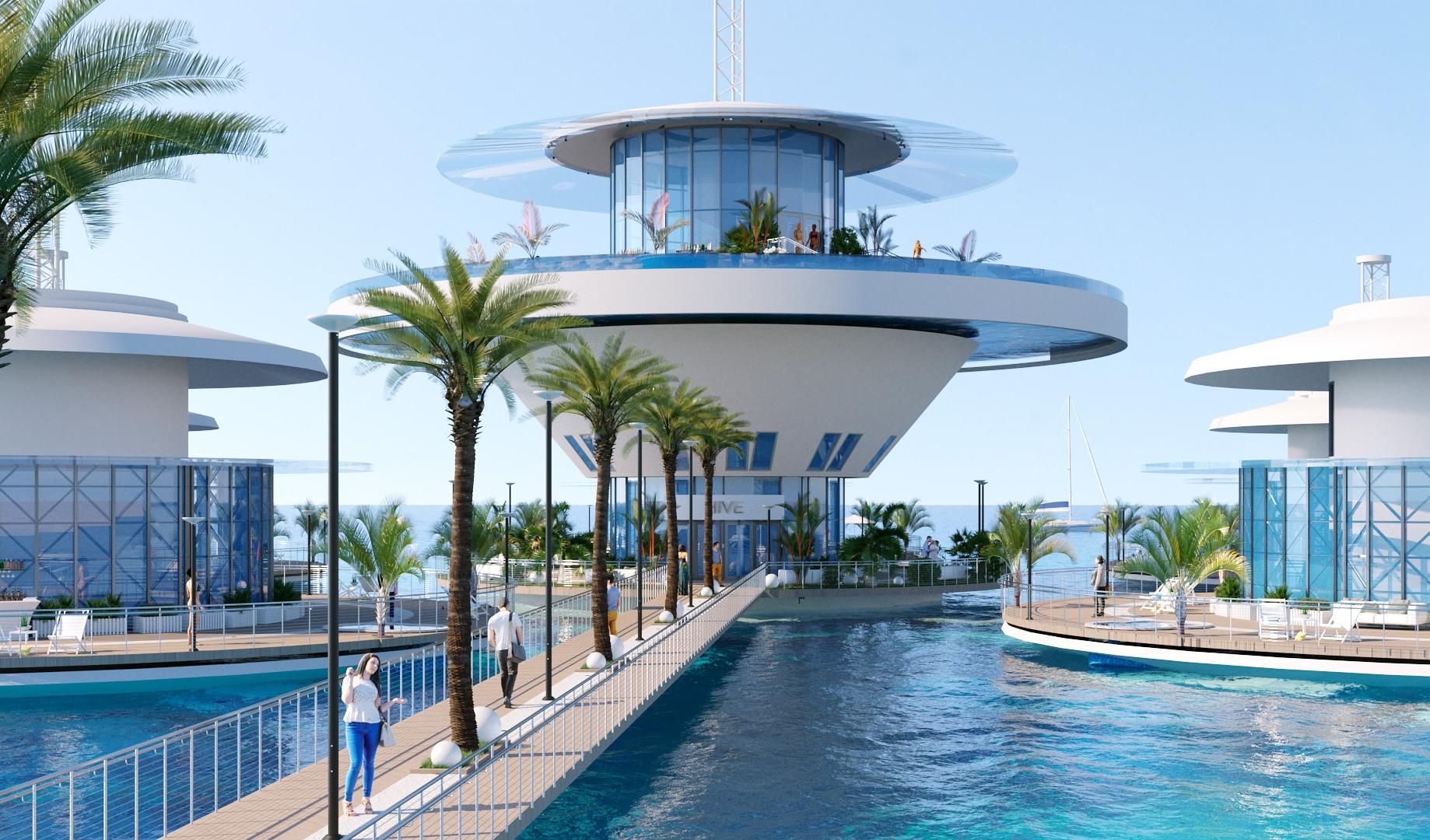 Подводная гостиница HIVE вид 6